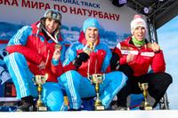 Herren Podium Moskau