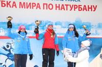 Podium Moskau Verfolger Damen