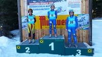 Podium Juniorinnen, Winterleiten 2017