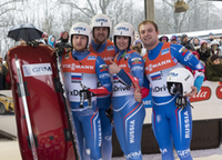 Russen team staffel Sigulda