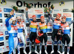 Siegerehrung Doppel Wc Oberhof 946 C Dietmar Reker 1