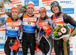 Siegerehrung Staffel W Berg 366 C Dietmar Reker 1