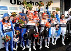 Siegerehrung Staffel Wc Oberhof 279 Petra Reker 1