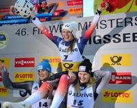 Sprint Damensiegerinnen
