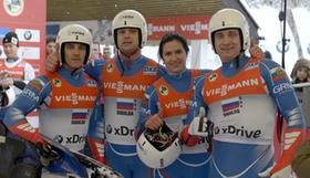 Teamfoto Staffel Russia