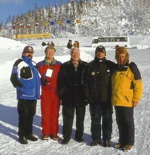 v.l. Herbert Wurzer, Gennady Rodionov, Bürgermeister von Kandalakscha, Harald Steyrer und Josef Thaler