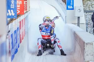 Steu / Koller, 5th World Cup victory, Igls 2020