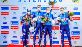 2020 12 06 Wc Altenberg Relay Winners And Aut Fotomanlv