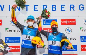 Eggert / Benecken, Sprint, Winterberg 2020