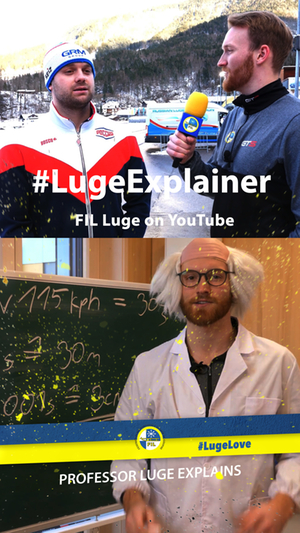 Professor Luge, Aerodynamik