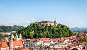 Ljubljana Panorama Foto Blaz Pogacnik