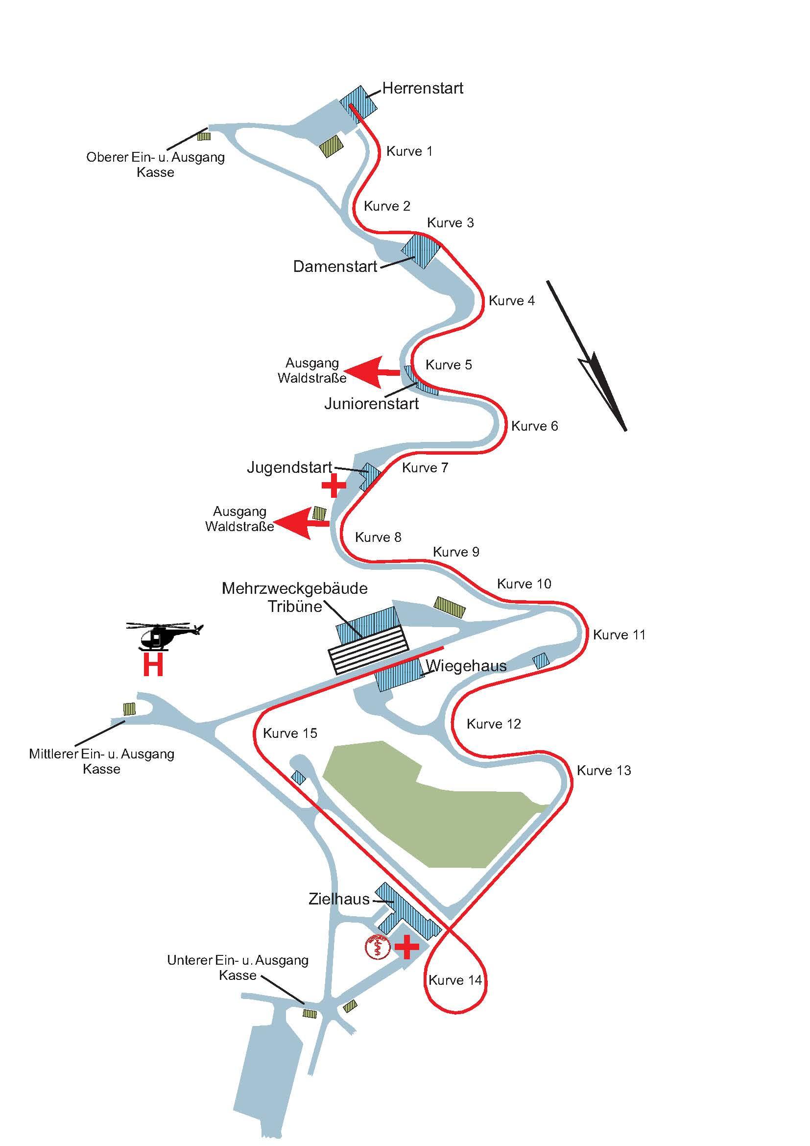 Oberhof Strecke