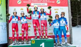 Podium Doppelsitzer Winterleiten 2019 Walch