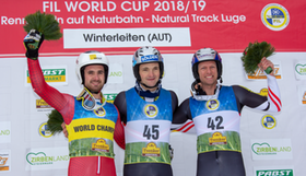 Podium Herren Winterleiten 2019 Walch