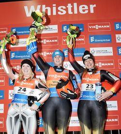 Siegerinnen Whistler Damen 1