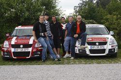 Suzuki Rallye Cup Moeller Mit Unterstuetzung 1