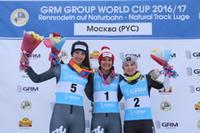 Winners Pursuit women, Moskau 2017