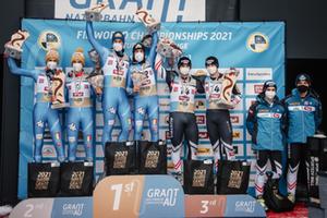 WM Umhausen 2021 Podium Doppel
